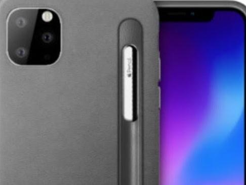 iPhone 2019 con mini Apple Pencil, qualcuno ci crede.