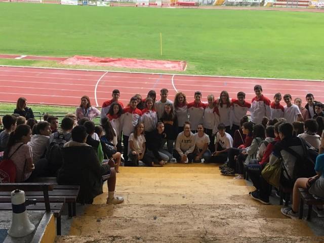 """Macerata, lo sport unisce le scuole: la """"Dante Alighieri"""" e l'ITE """"Gentili"""" insieme all'Helvia Recina"""