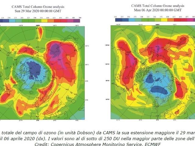 Cosa sta succedendo all'anomalo buco dell'ozono sull'Artico