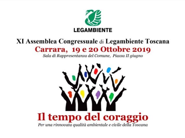 Il Tempo del coraggio: Legambiente Toscana a congresso a Carrara