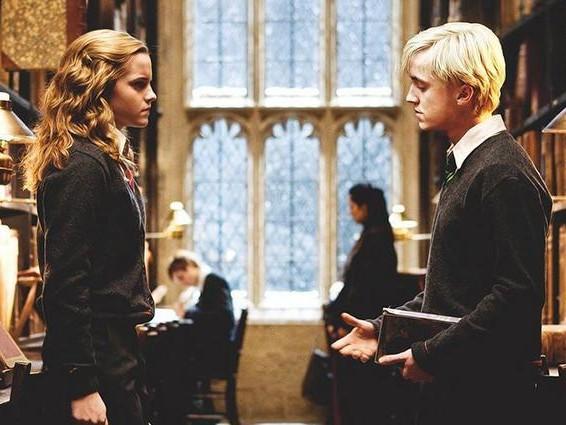 Harry Potter, la reunion tra Emma Watson e Tom Felton fa impazzire il web