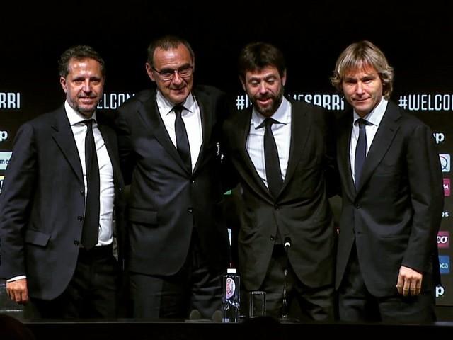 Juventus, Sarri a cena con Agnelli, Nedved e Paratici prima del ritorno in panchina