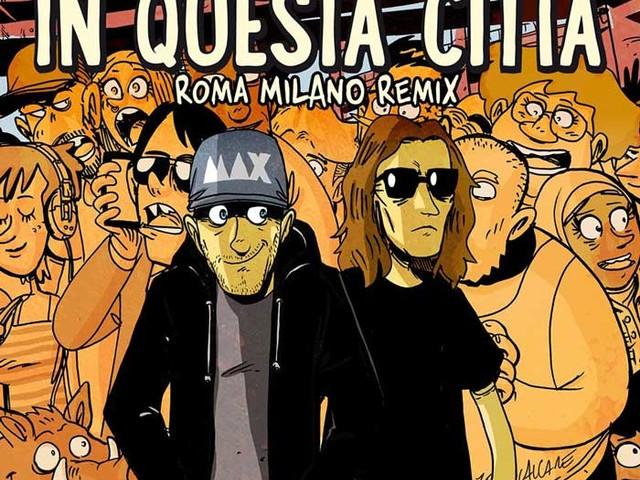 Max Pezzali – In questa città (Roma Milano Remix) feat. Ketama126: audio e testo della nuova versione