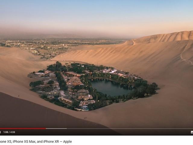 PromPerù: le Dune di Ica nel video di presentazione del nuovo Iphone X