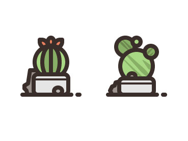 How to Create a Cactus Plants Icon Pack