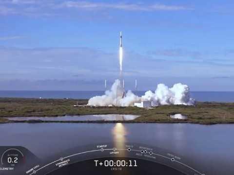 Il cargo spaziale Dragon di SpaceX ha iniziato la sua missione CRS-18 per conto della NASA