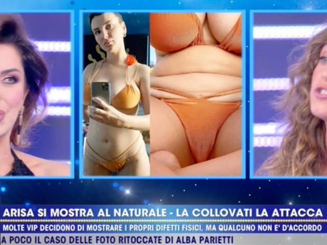 """Caterina Collovati vs Alba Parietti """"Passi da sgabelli...""""/ E lei """"Sciacqualattughe!"""""""