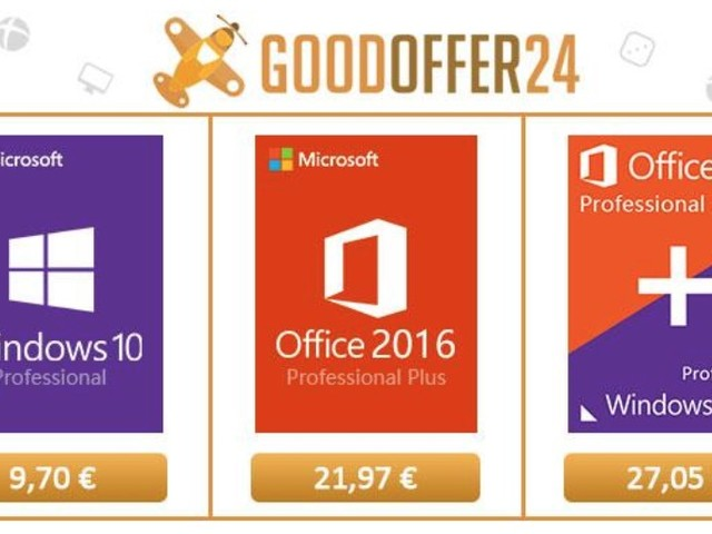 Licenze Windows 10 e Office 2016 a meno di €10