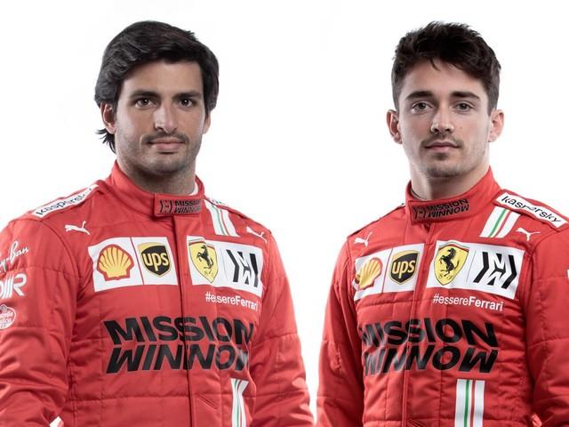 Formula 1 - La Ferrari riparte da Leclerc e Sainz