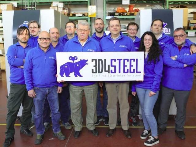 La prima stampante 3D solo per acciaio è tutta made in Italy: così 3D4Steel abbatte tempi e costi di produzione delle aziende