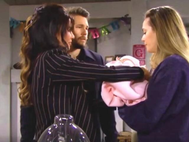 Beautiful anticipazioni 27 gennaio: la Logan avverte un legame con la figlia di Steffy