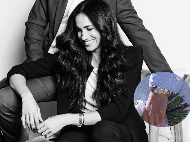 Meghan Markle indossa il Cartier di Lady Diana (che toccava a Kate)