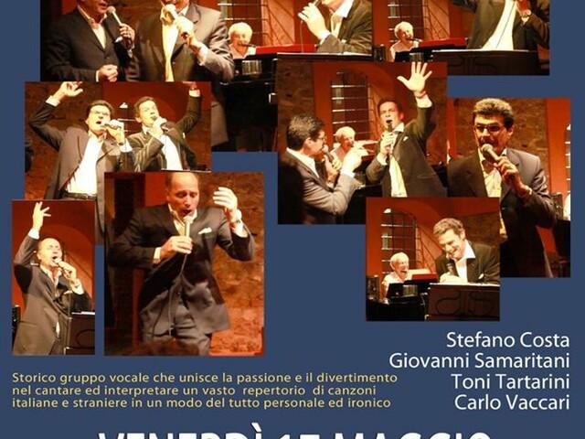 @TeatroArciliuto – VENERDÌ 17 Maggio 2019 il Gruppo Arciliuto 4 voci e 1 pianoforte