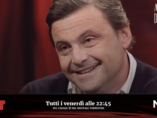 """Accordi&Disaccordi (Nove), Carlo Calenda: """"Briatore dice che devo stare zitto? Non ho niente in comune con lui"""""""