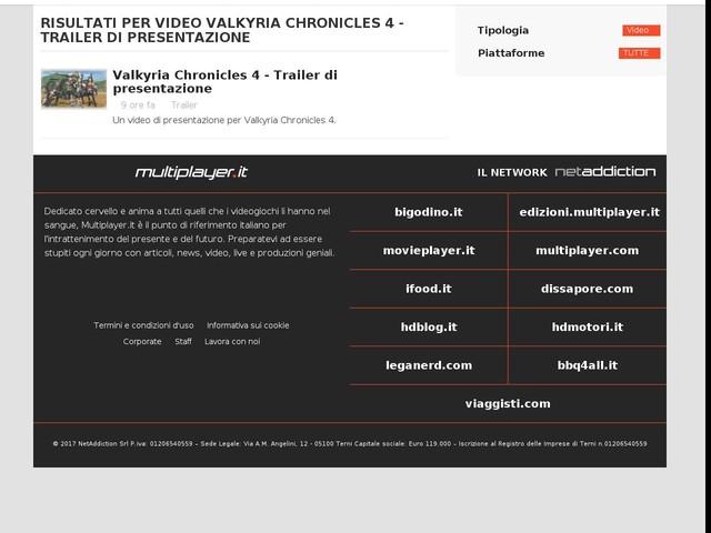 Valkyria Chronicles 4 - Trailer di presentazione