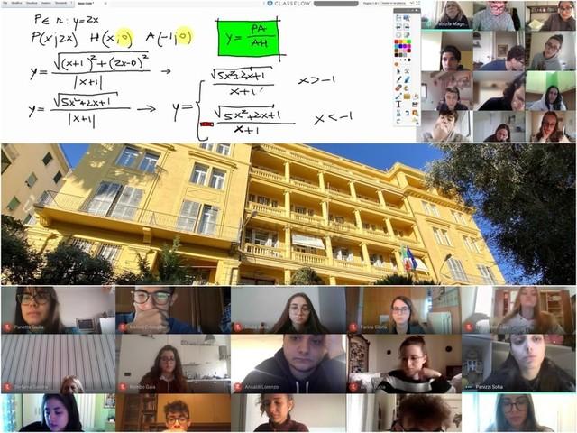 Sanremo: una mattina in DAD con i ragazzi del 'Cassini', la tenacia tiene a galla una generazione di studenti virtuali