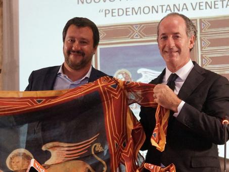 Salvini: ?Mai cos? positivo il clima con il Veneto, nessuna lite nella Lega?