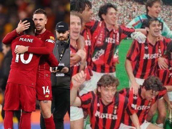 Liverpool imbattuto da 43 partite, ma il record è del Milan, 58 gare senza ko in Serie A