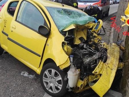 Incidente fra auto e camion, morta una donna di 40 anni a Marcellinara