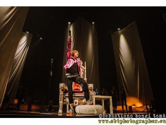 Gianna Nannini in concerto a Firenze