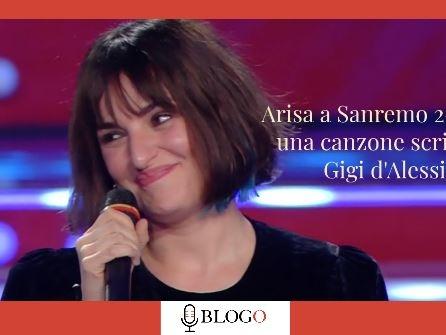 """Arisa a Sanremo 2021 con una canzone scritta da Gigi D'Alessio: """"Ingiustamente snobbato come autore"""""""