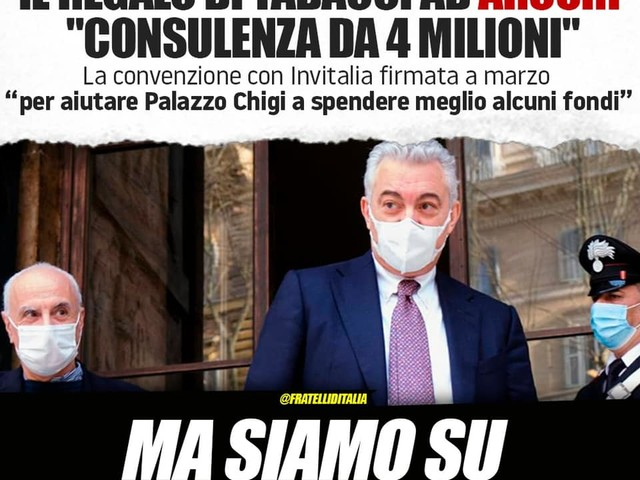 Covid, Meloni: Governo Draghi richiama Arcuri per aiutarlo a spendere meglio fondi? Ma siamo su scherzi a parte?