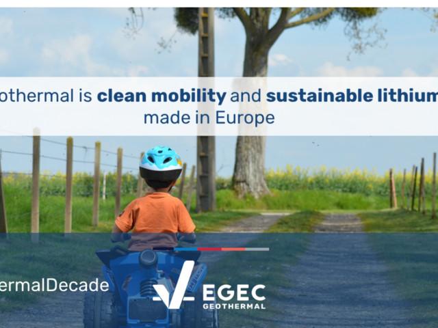 """È tempo di investire in litio geotermico pulito """"Made in Europe"""""""