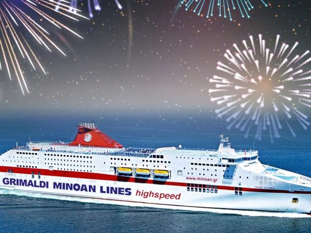 Minoan Grimaldi Lines presenta la minicrociera di Capodanno