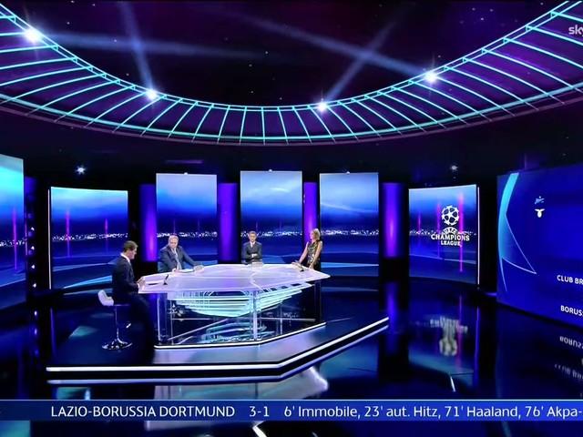 Sky Sport, Diretta Champions #2, Palinsesto Telecronisti Juventus, Inter, Atalanta, Lazio