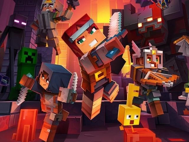 X019: Minecraft Dungeons ora ha una data di uscita su PC e console