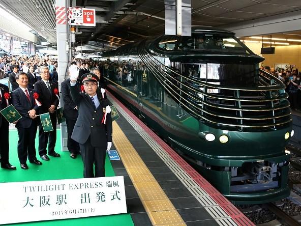 Viaggiare in treno in Giappone: Twilight Express Mizukaze