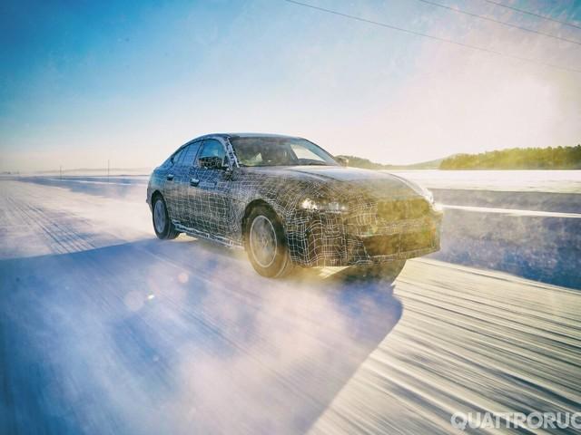 BMW i4 - Rivelati nuovi dettagli sulla berlina elettrica