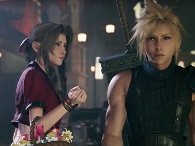 Final Fantasy VII Remake: una nuova immagine e una concept art ci mostrano Cloud e il celebre Shinra Building di Midgar