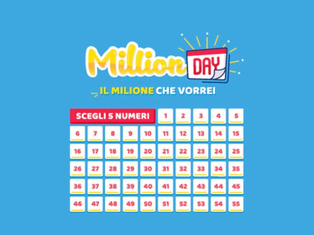 Million Day 8 dicembre 2019: ecco i numeri vincenti in diretta