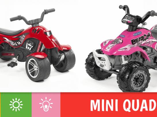 Scegliere un quad per bambini: come orientarci tra modelli a pedali ed elettrici