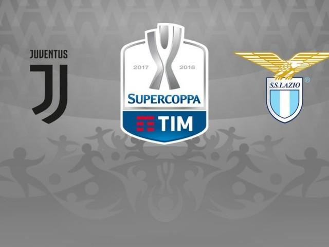 SuperCoppa Italiana 2017, Juventus - Lazio (diretta Rai 1 HD)