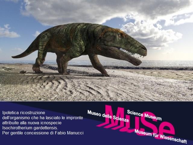Orme fossili di grandi rettili trovate sulle Alpi Occidentali