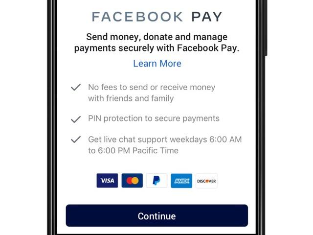 Facebook lancia la sfida ad Apple Pay con il suo nuovo sistema di pagamento