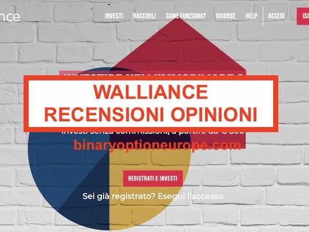 Walliance opinioni, recensioni,come funziona, quali rischi? [2020]