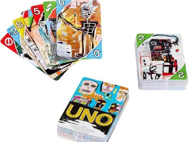 La Mattel lancia una serie di carte d'artista. Il primo mazzo è dedicato a Basquiat