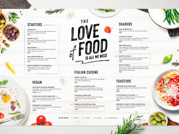 20+ Cool Restaurant (Food) Menu Templates (Best Modern Designs for 2021)