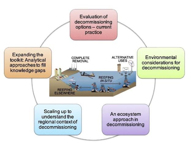 Le piattaforme offshore dismesse potrebbero avere un sorprendente ruolo ecologico