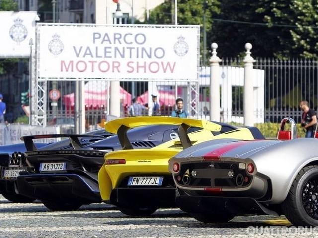 Parco Valentino - Il Salone diventa Milano-Monza Open Air Motor Show