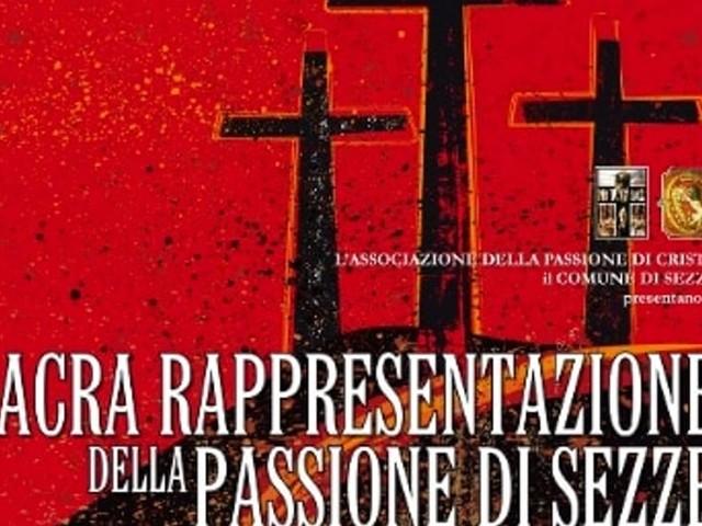 Pasqua 2019: tutto pronto la Passione di Cristo di Sezze