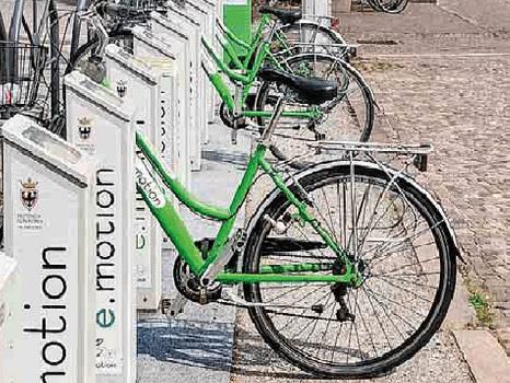 Quattro nuove stazioni per il servizio di bike sharing
