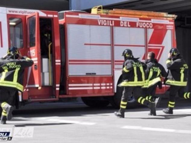 Un pullman ha preso fuoco sulla Palermo-Sciacca