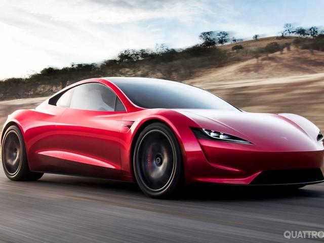 Tesla Roadster - L'elettrica da 400 km/h e 1.000 km di autonomia