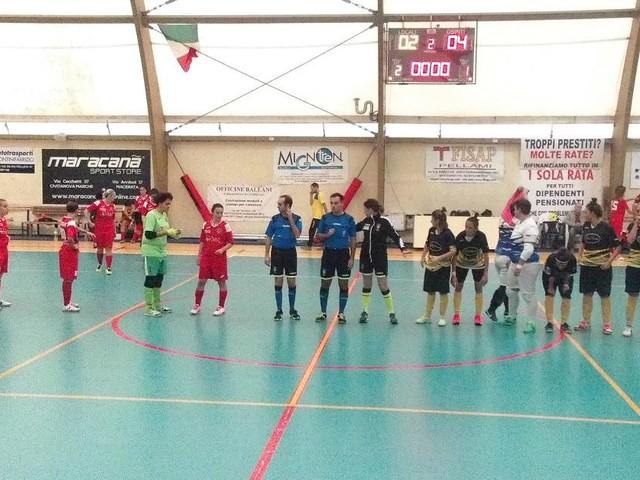 Calcio a 5, esordio amaro per il Civitanova Dream Futsal contro il Virtus Romagna