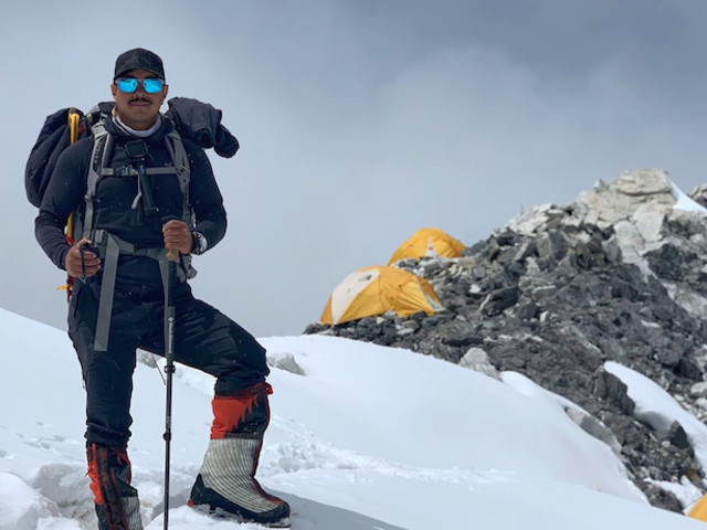 """Project Possible"". Cho Oyu: Nirmal Purja a Campo 1"