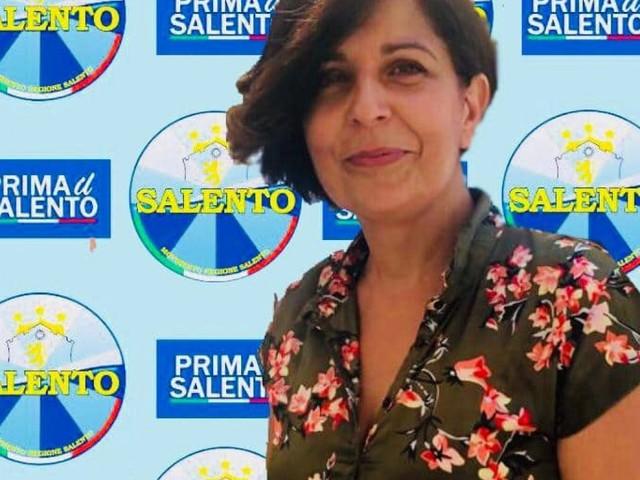 Adonella Caggiula coordinatrice cittadina per Alessano del Movimento Regione Salento